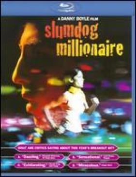 Slumdog Millionaire - Blu-ray cover