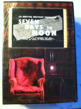 Seven Days To Noon - DVD cover