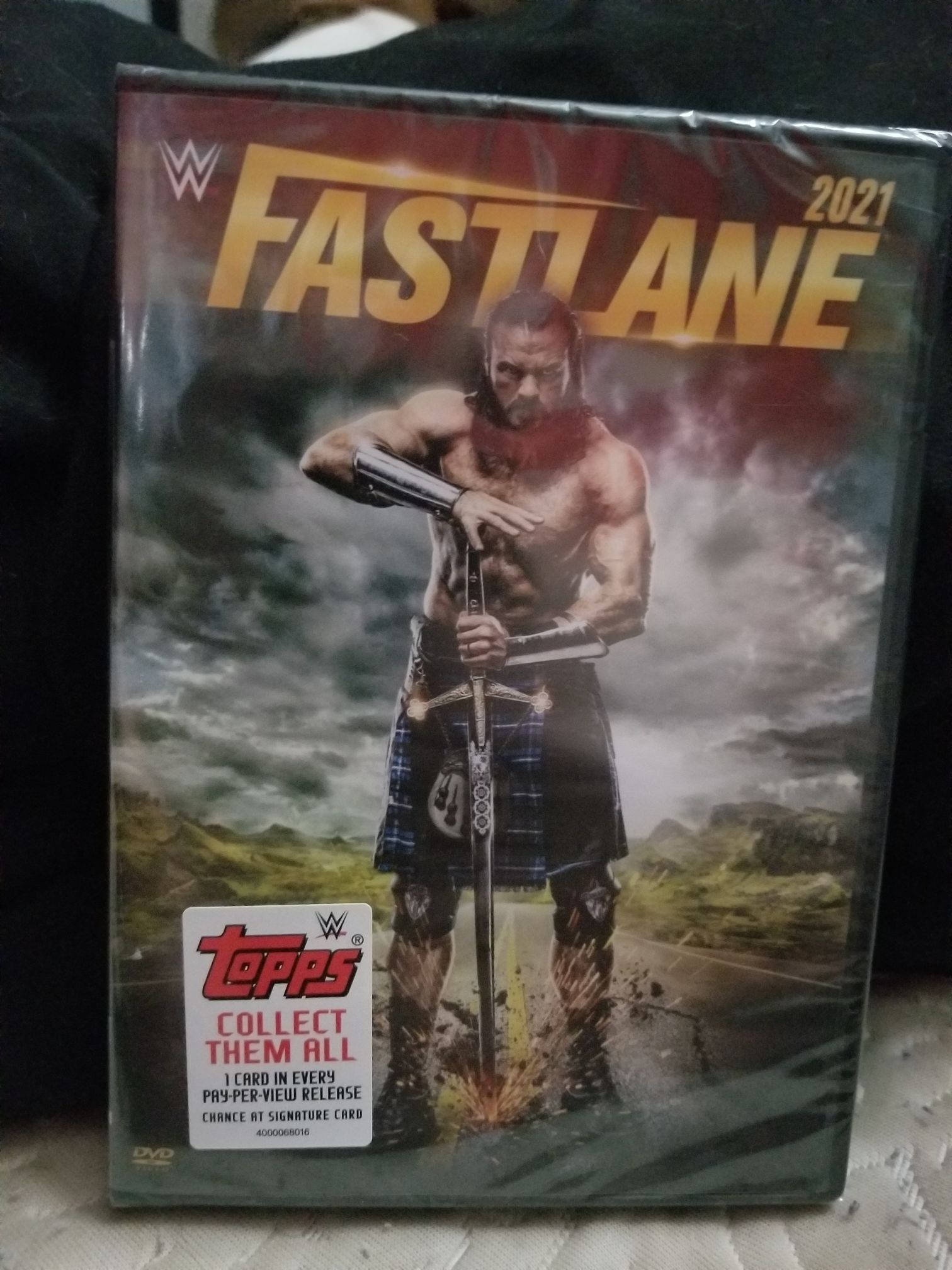 WWE: Fastlane 2021 -  cover