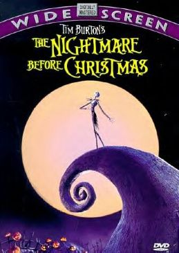 The Nightmare Before Christmas - VHS cover