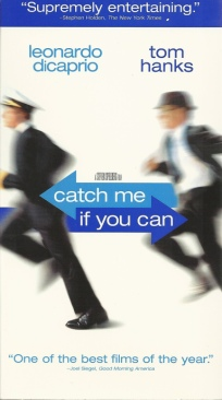Catch Me If You Can - VHS cover