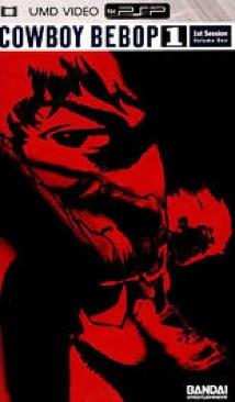 Cowboy Bebop - Session 1 - UMD cover