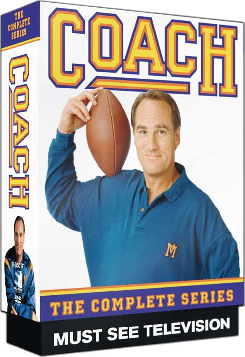 Coach: The Complete Series -  cover