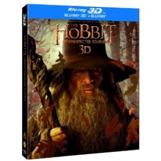 The Hobbit: An Unexpected Journey - Blu-ray cover