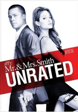 Mr. & Mrs. Smith - DVD cover