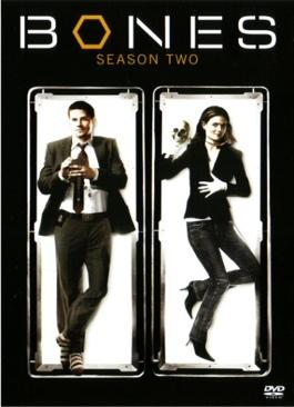 BONES (S2) - DVD cover
