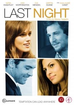 Last Night - DVD cover