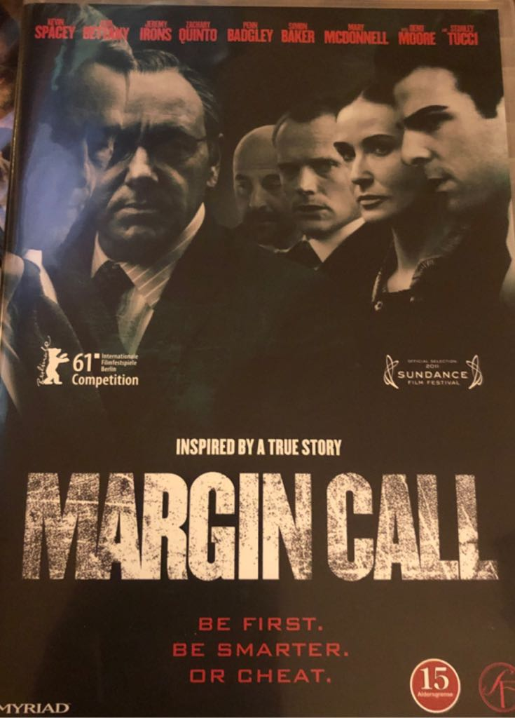 Margin Call -  cover