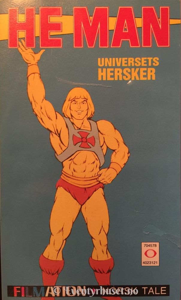 He-Man Universets Hersker -  cover