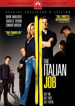 The Italian Job Reboot - DVD cover