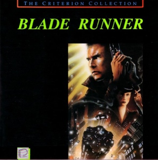 Blade Runner - Laser Disc cover