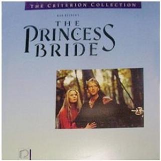 The Princess Bride - Laser Disc cover