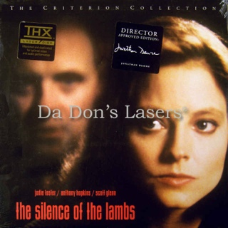 The Silence of the Lambs - Laser Disc cover