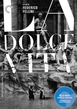 La Dolce Vita - Blu-ray cover