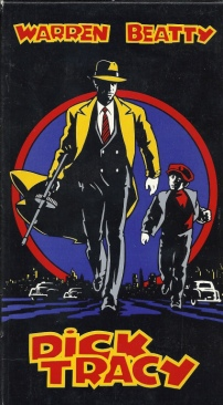 Dick Tracy - VHS cover