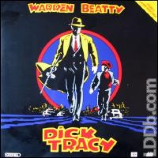 Dick Tracy - Laser Disc cover