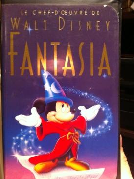 Fantasia - VHS cover