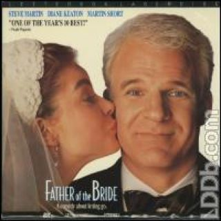 Father of the Bride - Laser Disc cover