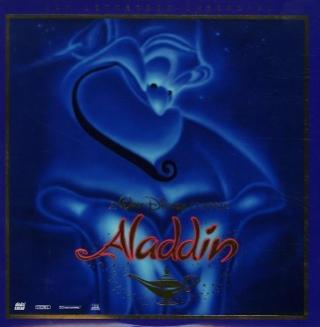 Aladdin - Laser Disc cover