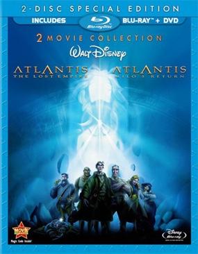 Atlantis 2: Milo's Return - Blu-ray cover