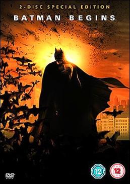 Batman Begins - VHS cover