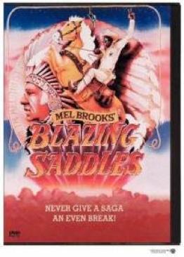 Blazing Saddles - DVD cover