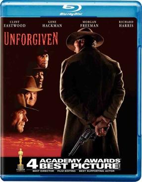 Unforgiven - Blu-ray cover