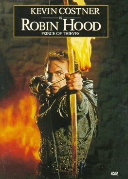 Robin Hood: Prince of Thieves - CED cover
