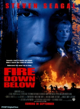 Fire Down Below - VHS cover