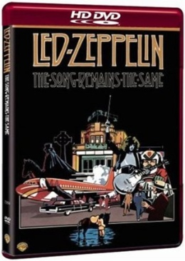 Led Zeppelin The Song Remains The Same - HD DVD cover