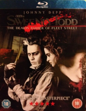 Sweeney Todd: The Demon Barber Of Fleet Street - Blu-ray cover