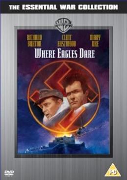 Where Eagles Dare - DVD cover