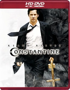 Constantine - HD DVD cover