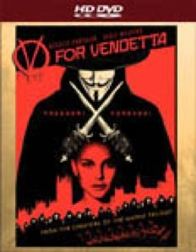 V for Vendetta - HD DVD cover