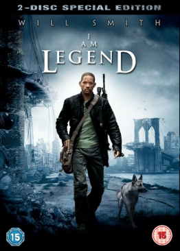 I Am Legend (2 Disc Special Edition) - DVD cover