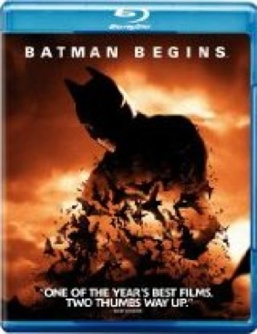 Batman 5 - Batman Begins - Blu-ray cover