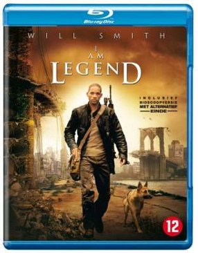 I Am Legend - Blu-ray cover