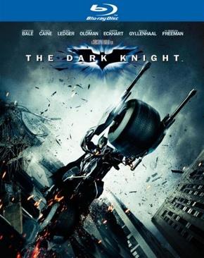 Batman The Dark Knight - Blu-ray cover