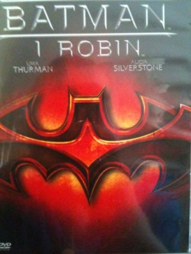 Batman & Robin - DVD cover