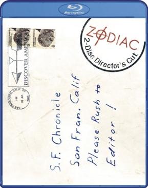 Zodiac - Blu-ray cover