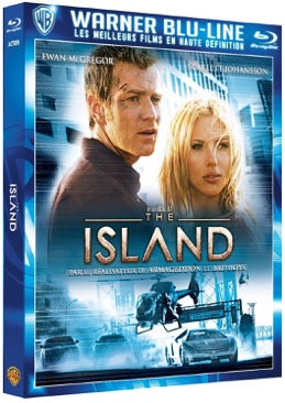 The Island - Blu-ray cover