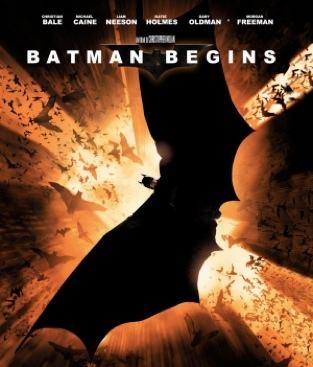 Batman (2005) 1 Begins - DVD cover