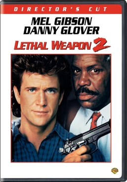 Lethal Weapon 2 - DVD cover