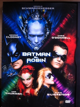 Batman & Robin - DVD cover