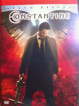 DC: Constantine - DVD cover