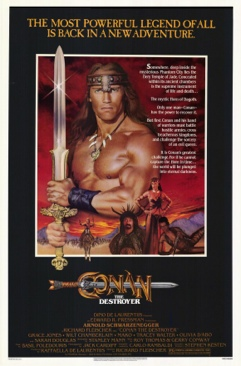 Conan the Destroyer - Blu-ray cover