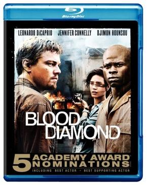 Blood Diamond - Blu-ray cover