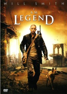 I Am Legend - DVD cover