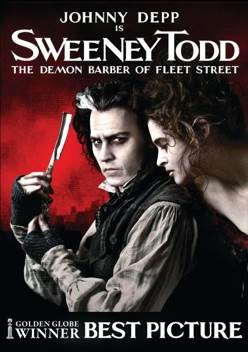 Sweeney Todd: The Demon Barber Of Fleet Street - Laser Disc cover