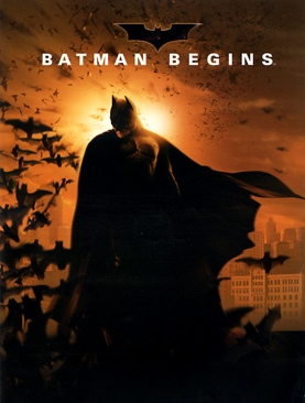Batman / Begins - DVD cover